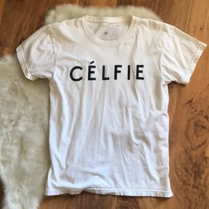 Sincerely Jules Celfie Shirt Top Size Small